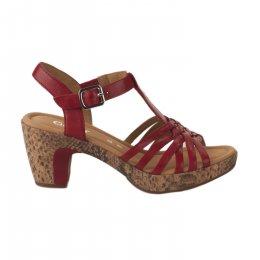 Nu pieds femme - GABOR - Rouge