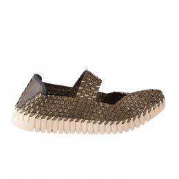 Chaussures de confort femme - ROCK SPRING - Bronze