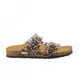 Mules femme - LES TROPEZIENNES - Leopard