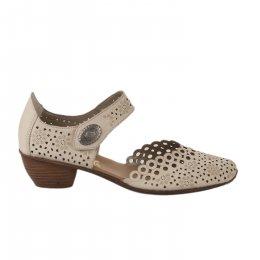 Chaussures de confort femme - RIEKER - Beige
