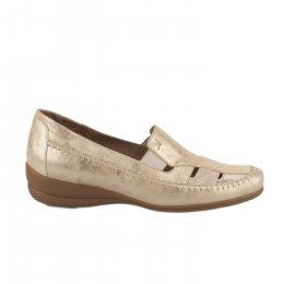 Chaussures de confort femme - GEO REINO - Dore
