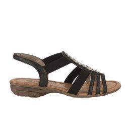 Nu pieds femme - REMONTE - Noir