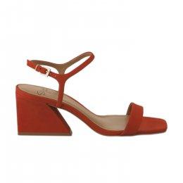 Nu pieds femme - STYME - Orange