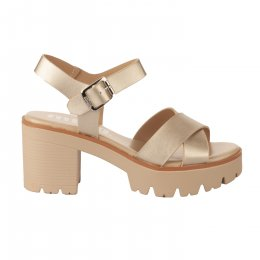 Nu pieds femme - MTNG - Dore