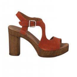Nu pieds femme - DAILY - Orange