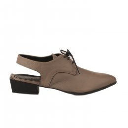Chaussures à lacets femme - BUENO - Taupe