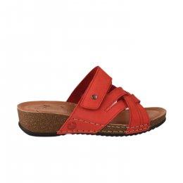 Chaussures de confort femme - FLY FLOT - Rouge