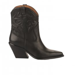 Boots Santiag femme - BRONX - Noir
