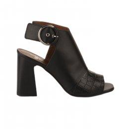 Nu pieds femme - MIGLIO - Noir