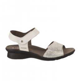 Nu pieds femme - MEPHISTO - Blanc