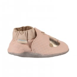 Chaussons fille - ROBEEZ - Rose