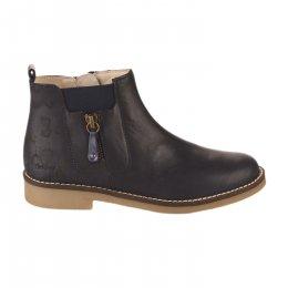 Boots fille - KICKERS - Bleu marine