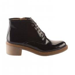 Boots femme - KICKERS - Noir verni