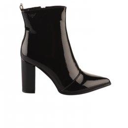 Boots femme - LES PETITES BOMBES - Noir verni