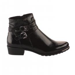 Boots femme - CAPRICE - Noir verni