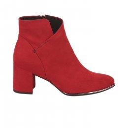 Boots femme - MARCO TOZZI - Rouge