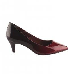 Escarpins femme - TAMARIS - Rouge bordeaux verni