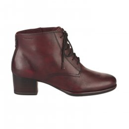 Bottines femme - TAMARIS - Rouge bordeaux
