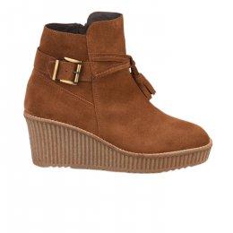 Boots femme - MIGLIO - Marron