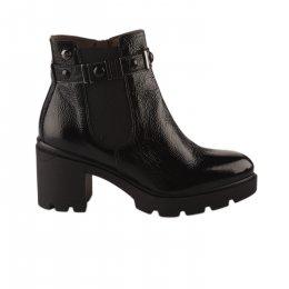 Boots femme - NG - Noir verni