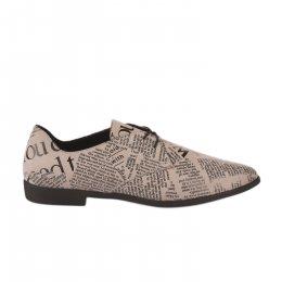 Chaussures à lacets femme - BUENO - Blanc