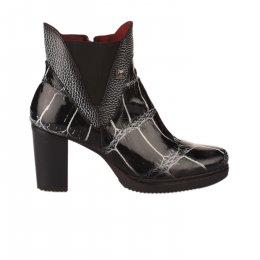 Boots femme - JOSE SAENZ - Noir verni