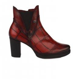 Boots femme - JOSE SAENZ - Rouge