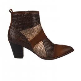Boots femme - FUGITIVE - Marron