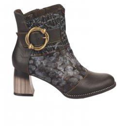 Boots femme - LAURA VITA - Noir