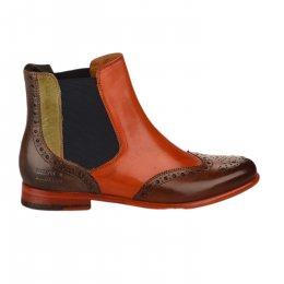 Boots femme - MELVIN & HALMILTON - Naturel