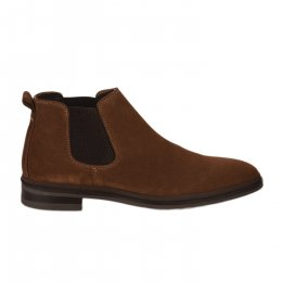Boots homme - FIRST COLLECTIVE - Beige fonce