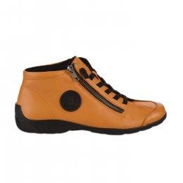 Chaussures à lacets femme - REMONTE - Jaune