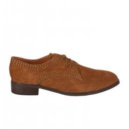 Chaussures à lacets femme - MAM'ZELLE - Naturel