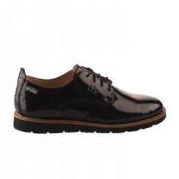 Chaussures à lacets femme - TBS - Noir verni