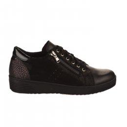 Baskets mode femme - GEO REINO - Noir