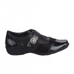 Chaussures de confort femme - GEO REINO - Noir