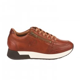 Baskets mode femme - PATAUGAS - Marron cognac