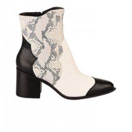 Boots femme - MAJORELLE - Blanc