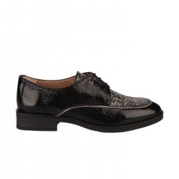 Chaussures à lacets femme - HISPANITAS - Noir verni