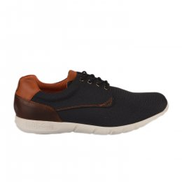 Chaussures à lacets homme - BUGATTI - Bleu marine