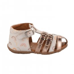 Nu-pieds fille - GBB - Blanc