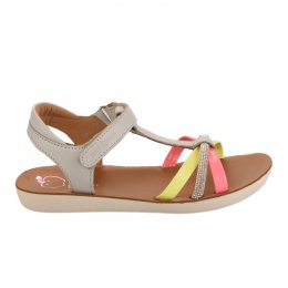 Nu-pieds fille - SHOO POM - Multicolore