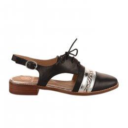 Chaussures à lacets femme - EMILIE KARSTON - Noir