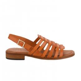 Nu pieds femme - MIGLIO - Orange