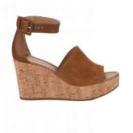 Nu pieds femme - NEROGIARDINI - Camel