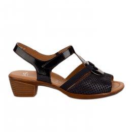 Nu pieds femme - ARA - Bleu marine