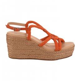 Nu pieds femme - MAJORELLE - Orange