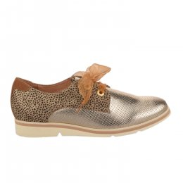 Chaussures à lacets femme - FUGITIVE - Dore
