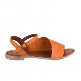 Nu pieds femme - BUENO - Orange
