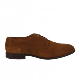 Chaussures à lacets homme - FIRST COLLECTIVE - Marron clair